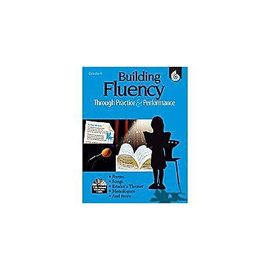 Shell Education Building Fluency Through Practice and Performance Grade 4 Reading & Writing Workbook, Grade 4 [Enhanced eBook]