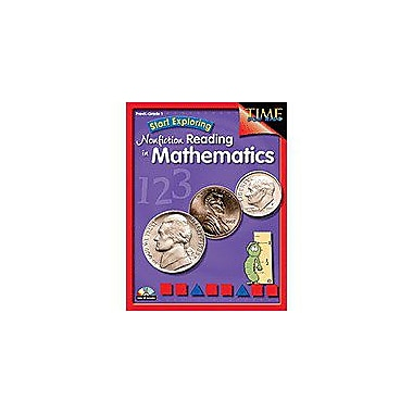 Shell Education Start Exploring Nonfiction Reading In Mathematics Language Arts Workbook, Preschool - Grade 1 [eBook]