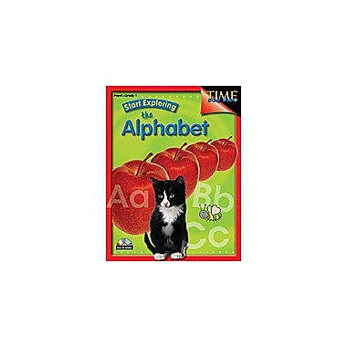 Shell Education Start Exploring the Alphabet Language Arts Workbook, Preschool - Grade 1 [Enhanced eBook]