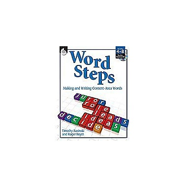Shell Education Word Steps Puzzles Workbook, Grade 4 - Grade 8 [Enhanced eBook]