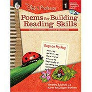 Shell Education The Poet and the Professor: Poems for Building Reading Skills Level 1, Grade 1 [Enhanced eBook]