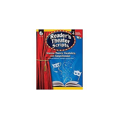 Shell Education Reader's Theater Scripts Grade 4 Language Arts Workbook, Grade 4 [Enhanced eBook]