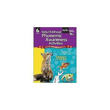 Shell Education Early Childhood Phonemic Awareness Activities Language Arts Workbook, Preschool - Grade 1 [Enhanced eBook]