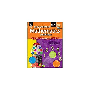 Shell Education Early Childhood Mathematics Activities Math Workbook, Preschool - Grade 1 [Enhanced eBook]