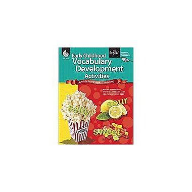 Shell Education Early Childhood Vocabulary Development Activities Language Arts Workbook, Preschool - Grade 1 [Enhanced eBook]