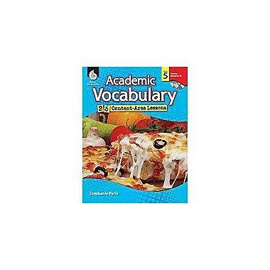 Shell Education Academic Vocabulary: 25 Content-Area Lessons Level 5 Language Arts Workbook, Grade 5 [Enhanced eBook]