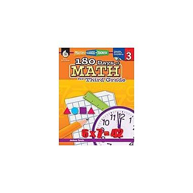 Shell Education 180 Days of Math for Third Grade Math Workbook, Grade 3 [Enhanced eBook]