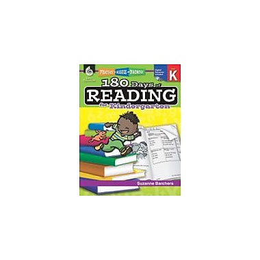 Shell Education 180 Days of Reading for Kindergarten Reading & Writing Workbook, Kindergarten [eBook]