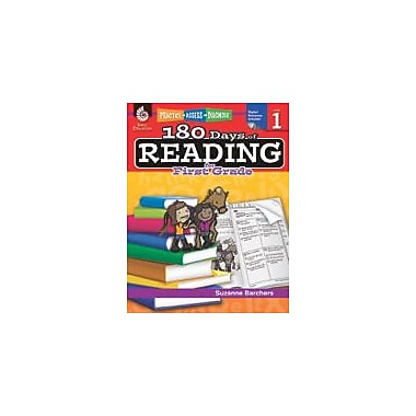 Shell Education 180 Days of Reading for First Grade Reading & Writing Workbook, Grade 1 [eBook]