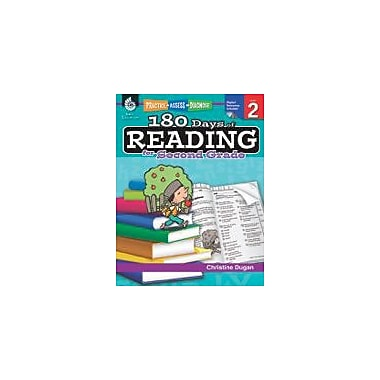 Shell Education 180 Days of Reading for Second Grade Reading & Writing Workbook, Grade 2 [eBook]