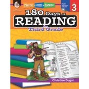 Shell Education 180 Days of Reading for Third Grade Reading & Writing Workbook, Grade 3 [eBook]