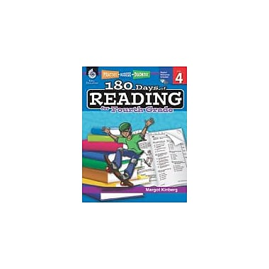 Shell Education 180 Days of Reading for Fourth Grade Reading & Writing Workbook, Grade 4 [eBook]