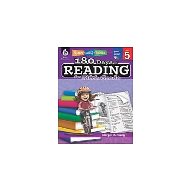 Shell Education 180 Days of Reading for Fifth Grade Reading & Writing Workbook, Grade 5 [eBook]
