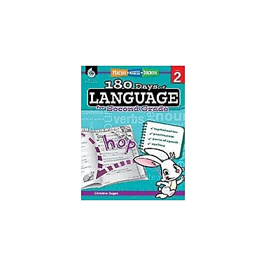 Shell Education 180 Days of Language for Second Grade Language Arts Workbook, Grade 2 [eBook]