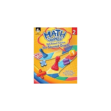 Shell Education Math Games: Skill-Based Practice for Second Grade Math Workbook, Grade 2 [eBook]