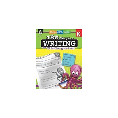 Shell Education 180 Days of Writing for Kindergarten Reading & Writing Workbook, Kindergarten [eBook]