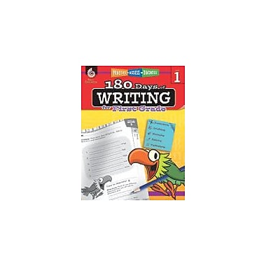 Shell Education 180 Days of Writing for First Grade Reading & Writing Workbook, Grade 1 [eBook]