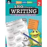 Shell Education 180 Days Of Writing For Second Grade Reading