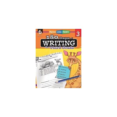 Shell Education 180 Days of Writing for Third Grade Reading & Writing Workbook, Grade 3 [eBook]