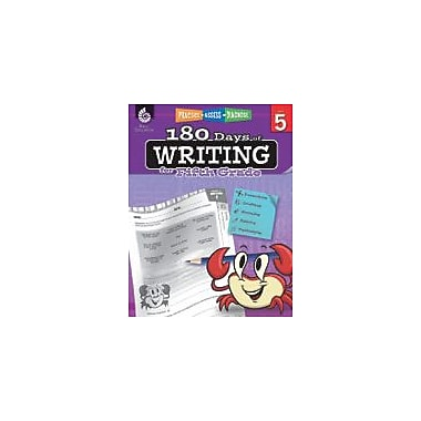 Shell Education 180 Days of Writing for Fifth Grade Reading & Writing Workbook, Grade 5 [eBook]