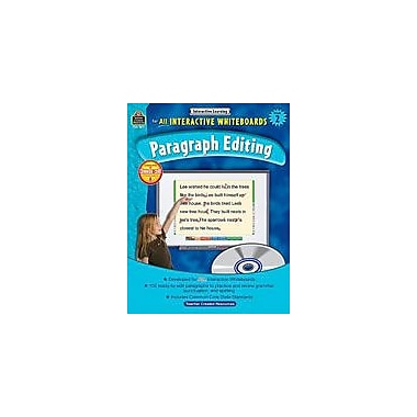 Teacher Created Resources Interactive Learning: Paragraph Editing Language Arts Workbook, Grade 2 [eBook]
