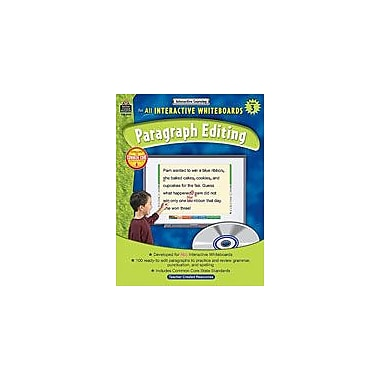 Teacher Created Resources Interactive Learning: Paragraph Editing Language Arts Workbook, Grade 3 [eBook]