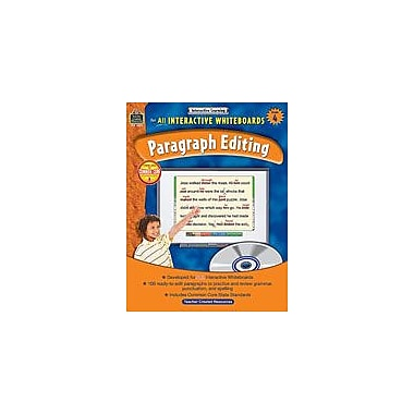 Teacher Created Resources Interactive Learning: Paragraph Editing Language Arts Workbook, Grade 4 [eBook]