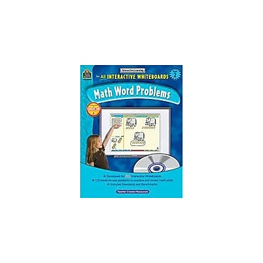 Teacher Created Resources Interactive Learning: Math Word Problems Math Workbook, Grade 2 [eBook]
