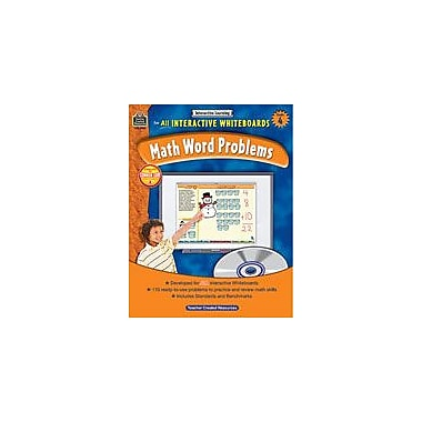 Teacher Created Resources Interactive Learning: Math Word Problems Math Workbook, Grade 4 [eBook]