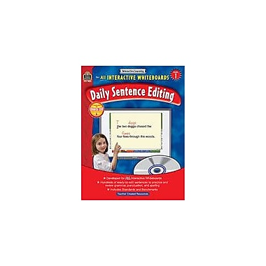 Teacher Created Resources Interactive Learning: Daily Sentence Editing Computers Workbook, Grade 1 [eBook]