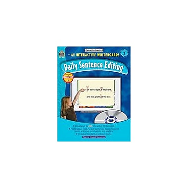 Teacher Created Resources Interactive Learning: Daily Sentence Editing Computers Workbook, Grade 2 [eBook]