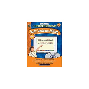Teacher Created Resources Interactive Learning: Daily Sentence Editing Computers Workbook, Grade 4 [eBook]