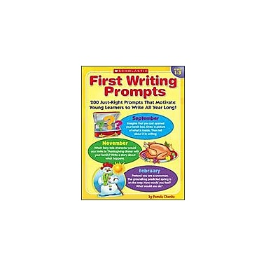 Scholastic First Writing Prompts Reading & Writing Workbook, Grade 1 - Grade 3 [eBook]