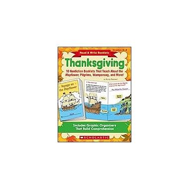 Scholastic Read and Write Booklets: Thanksgiving Reading & Writing Workbook, Kindergarten - Grade 2 [Enhanced eBook]