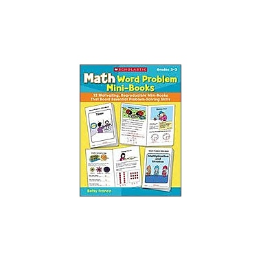 Scholastic Math Word Problem Mini-Books Math Workbook, Grade 2 - Grade 3 [Enhanced eBook]