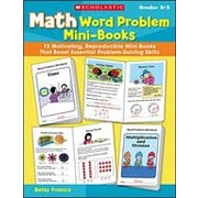 Scholastic Math Word Problem Mini-Books Math Workbook, Grade 2 - Grade 3 [eBook]