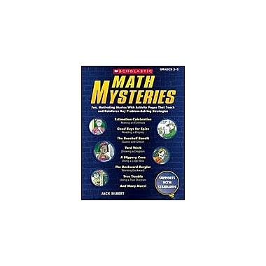 Scholastic Math Mysteries Math Workbook, Grade 3 - Grade 5 [Enhanced eBook]