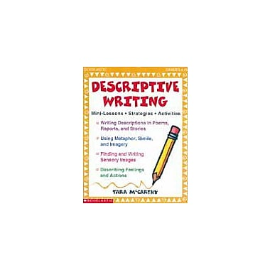 Scholastic Descriptive Writing Grammar Workbook, Grade 4 - Grade 8 [eBook]