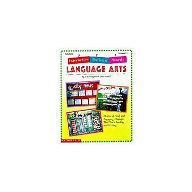 Scholastic Interactive Bulletin Boards Language Arts Teacher Planning Workbook, Kindergarten - Grade 3 [Enhanced eBook]