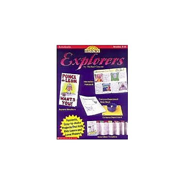 Scholastic Hands-On History: Explorers History Workbook, Grade 4 - Grade 8 [Enhanced eBook]