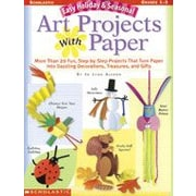 Scholastic - Manuel de musique et d'art Easy Holiday and Seasonal Art Projects With Paper, 1re et 3e année [livre numérique]
