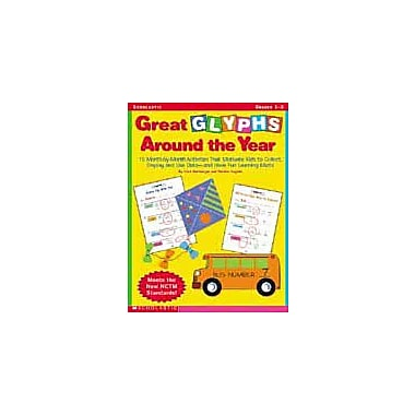 Scholastic Great Glyphs Around the Year Math Workbook, Grade 1 - Grade 3 [eBook]