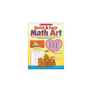Scholastic Quick and Easy Math Art Art & Music Workbook, Grade 2 - Grade 4 [eBook]