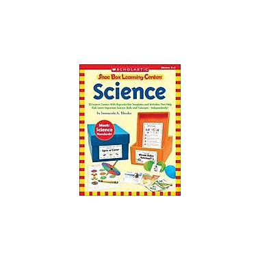 Scholastic Shoe Box Learning Centers: Science Science Workbook, Kindergarten - Grade 2 [eBook]