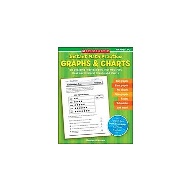 Scholastic Instant Math Practice: Graphs and Charts Math Workbook, Grade 2 - Grade 3 [eBook]