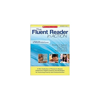 Scholastic The Fluent Reader In Action: Prek-4 Reading & Writing Workbook, Preschool - Grade 4 [eBook]
