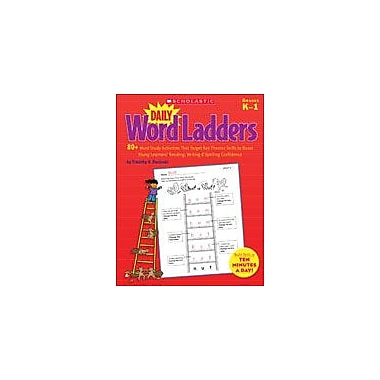 Scholastic Daily Word Ladders: Grades K-1 Reading & Writing Workbook, Kindergarten - Grade 1 [eBook]