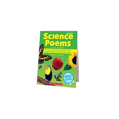 Scholastic Science Poems Flip Chart Science Workbook, Kindergarten - Grade 3 [eBook]