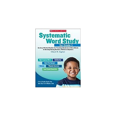 Scholastic Systematic Word Study for Grade 1 Reading & Writing Workbook, Grade 1 [eBook]