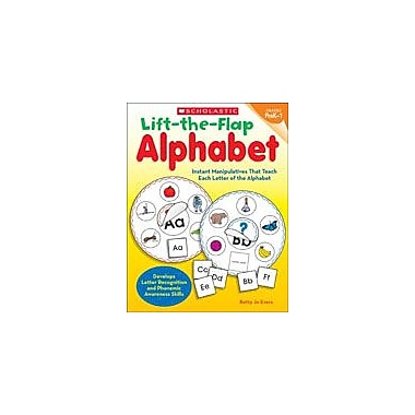 Scholastic Lift-The-Flap Alphabet Reading & Writing Workbook, Preschool - Grade 1 [eBook]